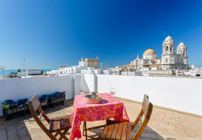 Apartamento en Cádiz - El CICERÓN del Pópulo