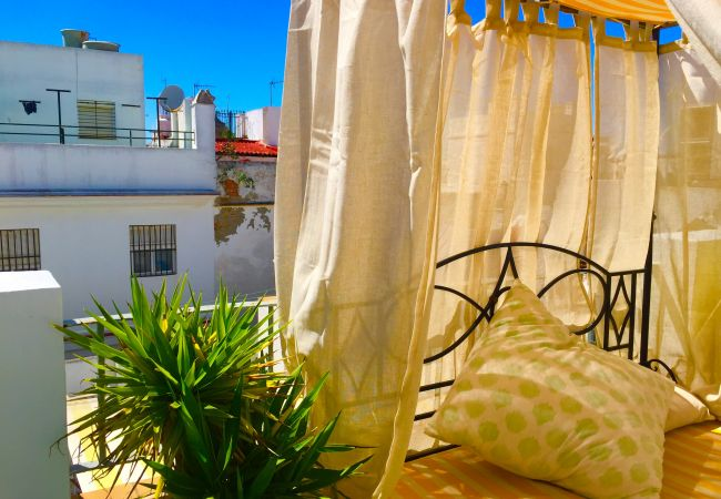 Estudio en Cádiz - Ático El BOHEMIO Flamenco