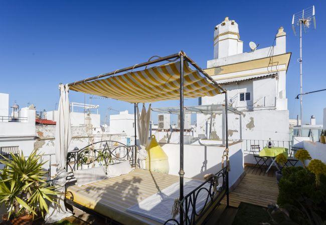 Apartamento en Cádiz - Ático El BOHEMIO Flamenco