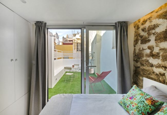 Apartamento en Cádiz - Ático-duplex ARCO Medieval