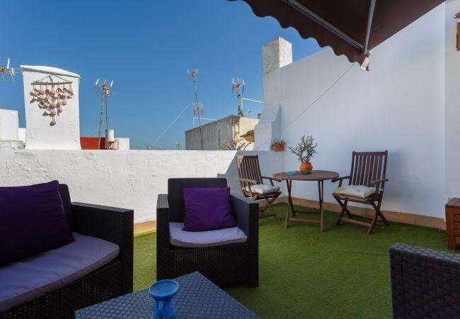Apartamento en Cádiz - Ático Salada CLARIDAD