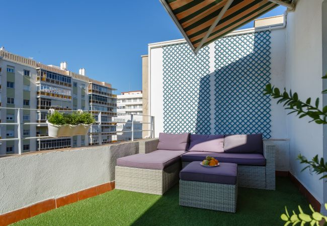 Apartment in Cádiz - Ático C4R La JOYITA de Cádiz (Free PARKING)