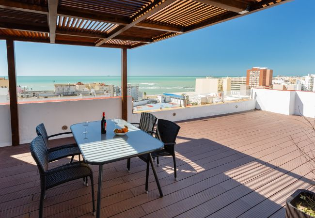 Studio in Cádiz - Ático FULL Balcony - Cádiz