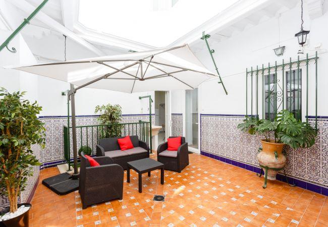 Maison à Cádiz - Casa Patio del MENTIDERO