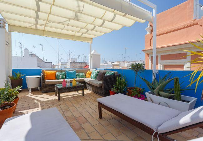 Appartement à Cádiz - El BENDITO Ático!